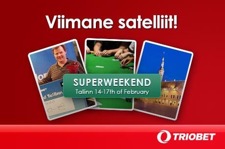 Veebruaris toimub Tallinnas eeldatavalt 125 000-eurose auhinnafondiga pokkeriturniir