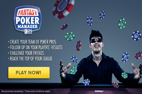 Global Poker Index Launch Fantasy Poker Manager on Facebook