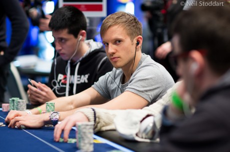 2013 PokerStars.fr EPT Deauville High Roller Day 2: Jacobson Leads Final Six