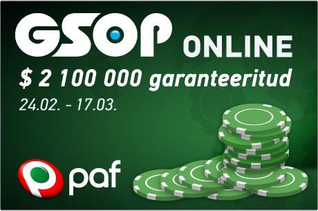 Tulemas juba kümnes GSOP Online turniiriseeria