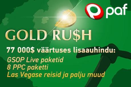 """Pafi kullapalavik """"Gold Rush"""" algab taas - lisatud auhinnafond 77 000 dollarit!"""