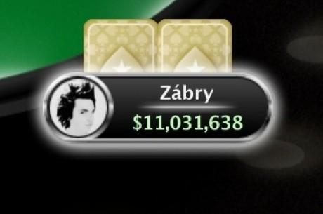 Čech ´Zábry´ vítězem Sunday Million, bere $151,644!