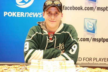 David Gonia Wins PokerNews Mid-States Poker Tour Running Aces Main Event