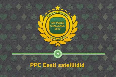 Algavad Paf Poker Challenge 2013 Eesti mängijatele mõeldud satelliidid