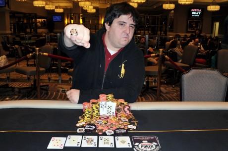 Дэвид Тутхиль выиграл 2012-13 WSOP Circuit Caesars Palace в Лас...