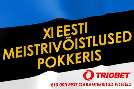 Homme õhtul lõppeb Triobetis Eesti meistrivõistluste kvalifikatsioon
