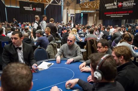 Master Finale presented by EPT: 249 Pokerspieler am ersten Starttag in der Spielbank Hohensyburg