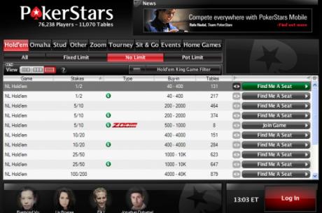 Един голям PokerStars софтуерен Re:фреш