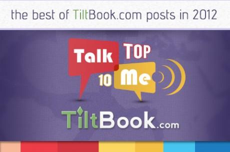 10 nejlepších příspěvků na TiltBook v roce 2012