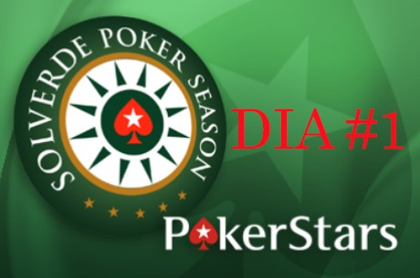 Solverde Season: Filipe Fernandes Chip Leader no Dia 1