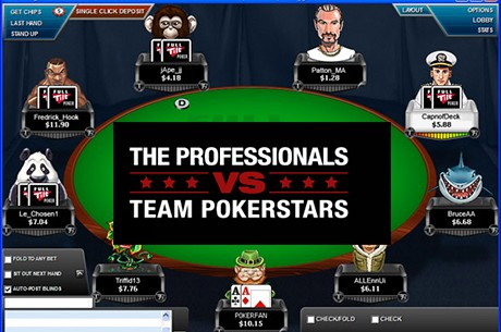 Team PokerStars Versus Team Full Tilt Poker: Frente a Frente em Números