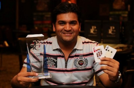 Amit Jain wins Main Event at India Poker Championship