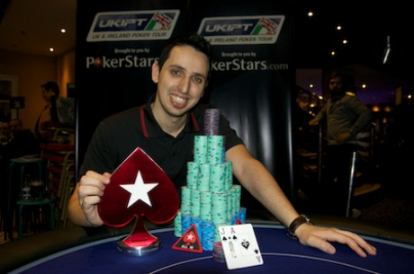 Sergio Aido Wins 2013 UKIPT London Main Event for £144,555