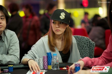 2013 PokerStars.net APPT Seoul Day 1a: Benjamin Richardson and Manami Hayamizu Lead