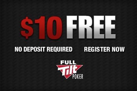 全倾斜扑克免费$10