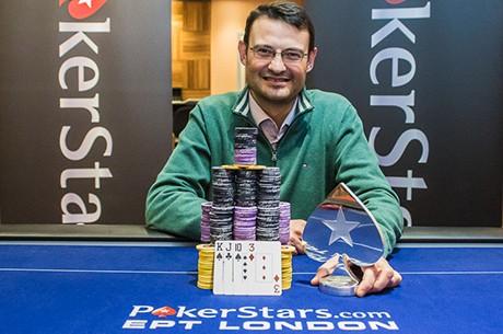 Rumen Nanev Ganha Torneio £1,500 NLH/PLO (£13,010)