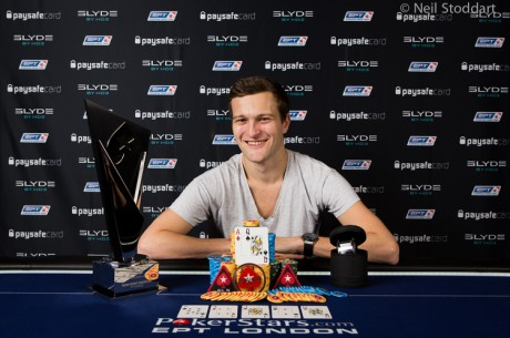 Ruben Visser vítězem 2013 PokerStars.com EPT London Main Event