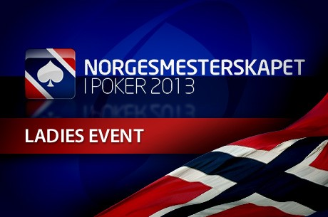 Norgesmesterskapet i Poker 2013 - Ladies Event, 51 stilte til start ved dag 1