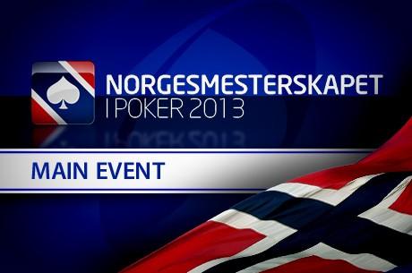 Norgesmesterskapet i Poker 2013 - Main Event er i gang