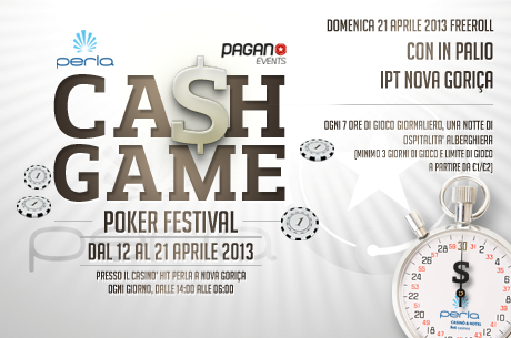 PokerStars.it & PaganoEvents zahajují IPT Cash Game Poker Festival 2013