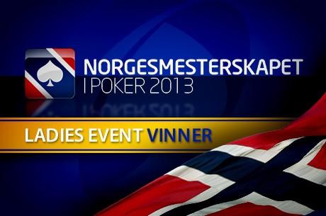 Norgesmesterskapet i Poker 2013 - Ladies Event - Kristine Dalen vant foran Eli Sundbakk