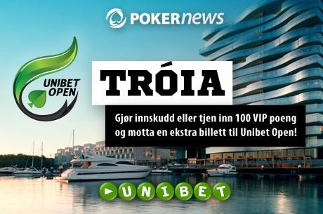 Vinn gratis billetter til Unibet Open Tróia helt gratis