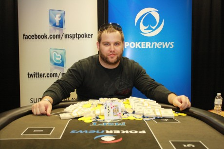 Daniel Bekavac Wins PokerNews Mid-States Poker Tour Ho-Chunk Gaming Main Event