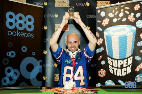 888poker SuperStack 2013 Marbella bate records