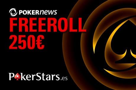 Freeroll de 250€ con PokerNews España y PokerStars.es