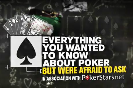 Kõik, mida tahtsid teada, aga kartsid küsida pokkerist: osa 1