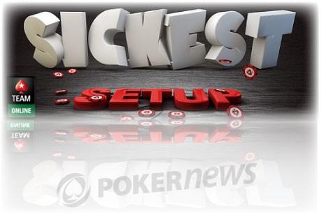 Покажете на Team Online вашето покер оборудване и...