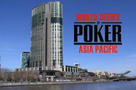 내일 시작되는 첫 아시아의 월드 시리즈 오브 포커!