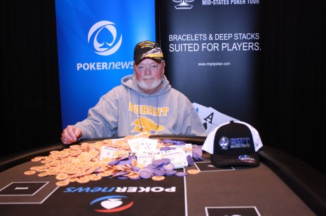 Terry Ring Wins PokerNews Mid-States Poker Tour Meskwaki Main Event