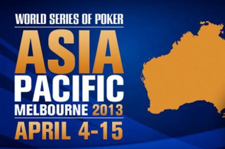 WSOP Asia Pacific: pirmasis nugalėtojas, trečiajame turnyre pirmauja Ivey ir Negreanu