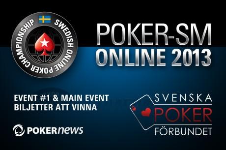 Poker-SM Online med PokerStars – 3 biljetter att vinna i morgon