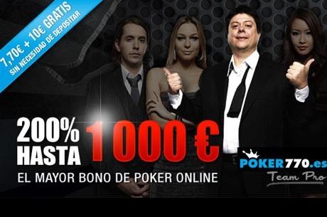 ¿Aún no juegas en poker770?