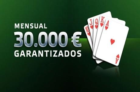 PartyPokerSemanal: 30.000€ garantizados, 1.000€ de bankroll, 40€ gratis y más