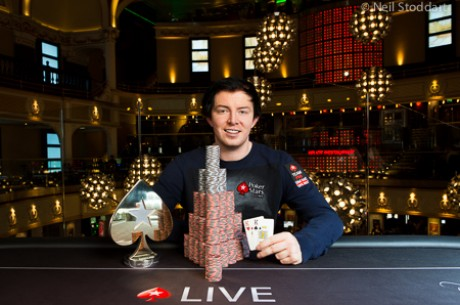 Team PokerStars Pro Jake Cody wins Inaugural UKIPT Series