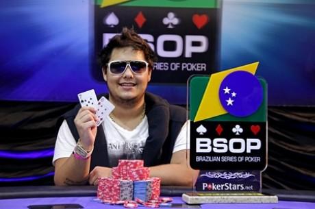 Leonardo Vilela Vence o BSOP Costa do Sauípe (R$186,850)