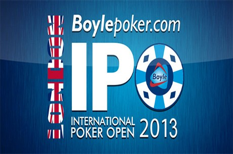 BoylePoker.com IPO London Progresses to Day 2; 135 Players Remain