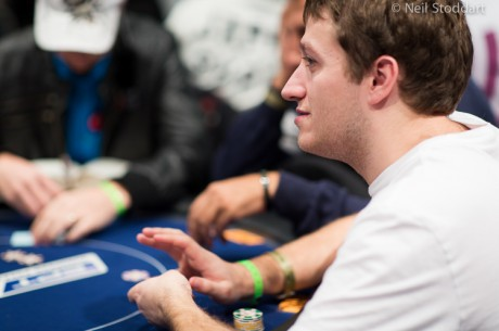 Stacked Field Returns for Day 3 of the DTD Monte Carlo; 30 Players Remain