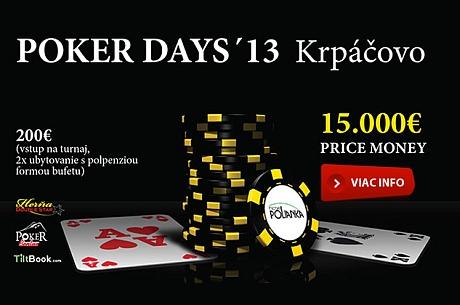 Poker Days´13 Krpáčovo