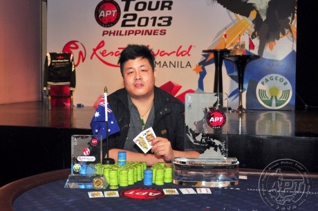 Khac Trung Tran Wins 2013 APT Philippines Main Event for $124,000; Nam Le 4th