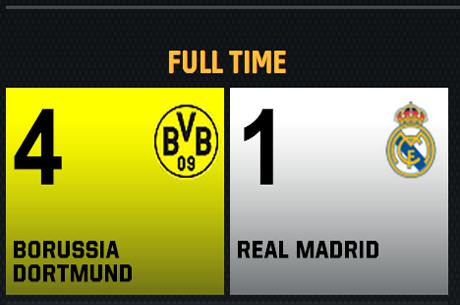 Dortmund kör över Real Madrid med 4-1 - Bäddat för heltysk CL-final