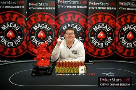 Terry Fan Wins Largest Ever Macau Poker Cup Red Dragon