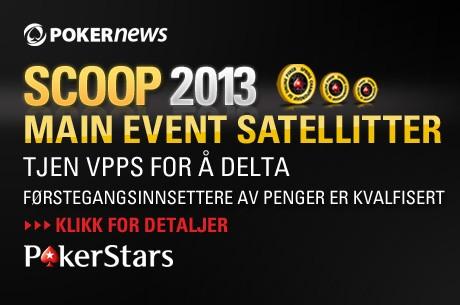 Vinn billetter SCOOP Main Events hos PokerStars!
