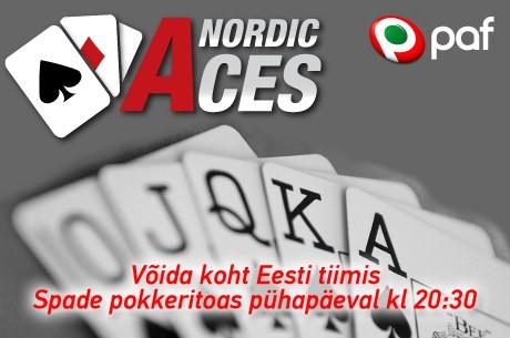 31.mai - 1. juuni toimub Tallinnas võistkondlik turniir Nordic Aces 2013