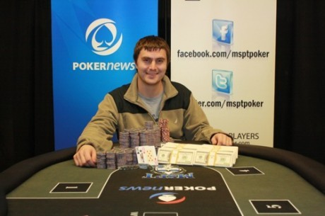 Адам Юнис выиграл мейн-ивент PokerNews Mid-States Poker Tour Canterbury...