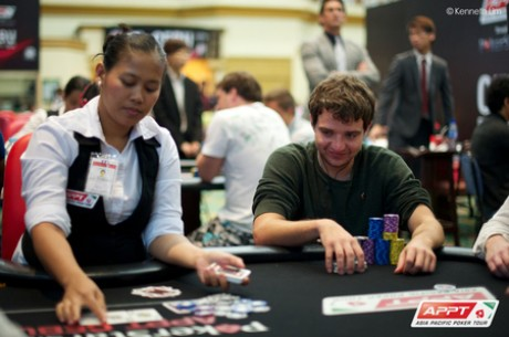 2013 PokerStars.net APPT Cebu Day 2: Daniel Spence Leads Final 25; Jim Collopy Third