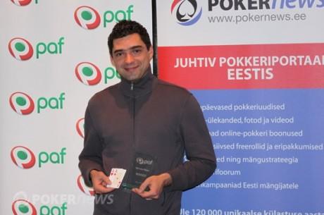 100 osalejaga maikuu Paf Live võitis Stanislav Smeljov